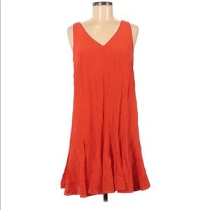 Club Monaco Coral Slip Swing Dress 6
